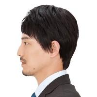 Jual Wig Rambut Pria Model Lurus, Warna Natural Black ...