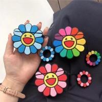 Takashi Murakami Flower Airpods Case