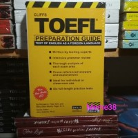 Buku TOEFL Cliffs TOEFL Preparation Guide