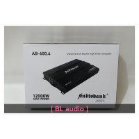 power 4 channel audiobank