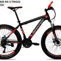 Jual Sepeda Gunung MTB 26 Odessy Velg Tinggi Double Rem