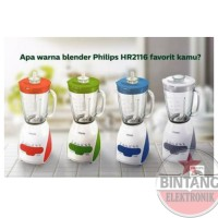 PROMO BLENDER PHILIPS 2 IN 1 HR-2116 [GLASS]