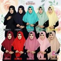 Jilbab Instan Seravi Pashmina Langsung Creppe by Miulan Hijab