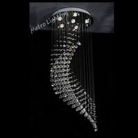 Lampu Kristal Sabit D60 H150