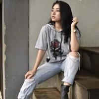 Kaos Hoodie Pria / Wanita Distro MRKO Bandung - MRKO 053