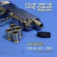 COVER BARREL LONG CUSTOM EDITION