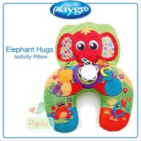 PlayGro Elephant Hugs Pillow - Bantal Mainan Bayi Anak