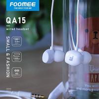 FOOMEE QA15 Earphone Pearl White Headset