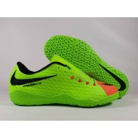 Sepatu Futsal Hypervenom Phelon III Green IC Replika Impor
