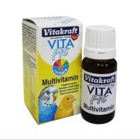 Vitakraft Vita Fit Multivitamin 10ml 21352 Kenari Parkit Burung