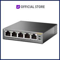 TP Link 5 Port 10/100Mbps Desktop Switch with 4 Port PoE TL-SG1005P