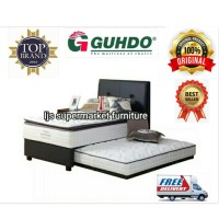1Set Kasur Springbed 2In1 Guhdo Sapphire Dream Atas Uk160 bawah Uk100