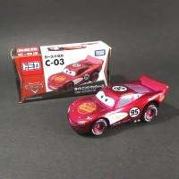 Tomica Disney Mini Cars C-03 Lightning McQueen - ORIGINAL TAKARA TOMY