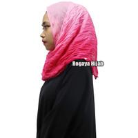 Jilbab Pashmina Hijab Bahan Poly Cotton Premium Kerudung Muslim JPY007