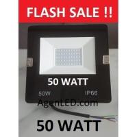LED SOROT 50W Flood light Lampu FLOODLIGHT tembak 50 w watt outdoor LC