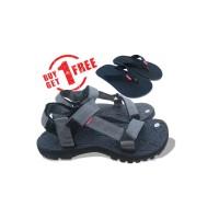 sandal gunung abu beli1 gratis 1 - Abu-abu, 37