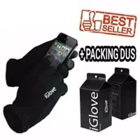 iGlove Sarung Tangan Motor Touch Screen Smartphone iPhone HP Android