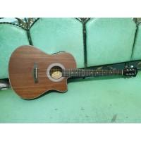 Gitar Akustik Elektrik Cowboy Original Tipe GWC-39 NS Eq7545 Bonus Tas
