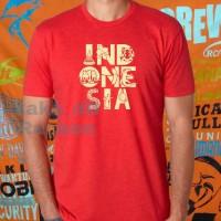 Kaos/baju/tshirt INDONESIA NASIONALIS