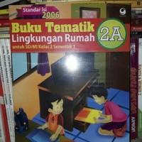 Buku Tematik 2A Lingkungan Rumah SD/MI Kelas II KTSP 2006