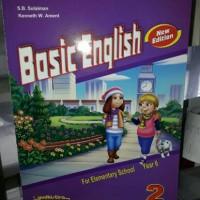 Basic English 2 SD Kelas II New Edition