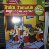 Buku Tematik 2B Lingkungan Sekolah SD/MI Kelas II KTSP 2006