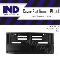 Cover-Dudukan-Tempat Plat Nomor-Nomer-No Motor Honda/Yamaha/Universal