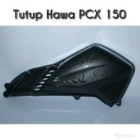 Cover Tutup Hawa Cover Filter PCX 150 Carbon