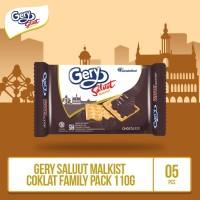 Gery Saluut Malkist Coklat -110g (MALS2) 5 Pcs By Garudafood