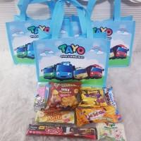 Souvenir Ultah/Paket Snack Ulang Tahun/Bingkisan Snack/Bingkisan Ultah