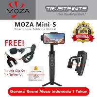 MOZA Mini S - Essentials 3-Axis Smartphone Gimbal Garansi Resmi 1Th