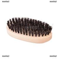 maoting1.ph 2x set Boar Bristle Beard Brush and Handmade Beard Comb Ki