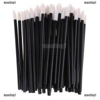 maoting1.ph 100 Disposable Lip Brush Gloss Wands Applicator Makeup Cos