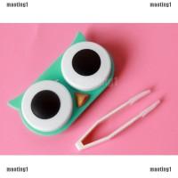 maoting1.ph OWL Contact Lens Case Cute Travel Storage Soak Kit Hard Ho