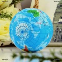 Mainan Squishy Bentuk Globe Peta Dunia untuk Pereda Stress