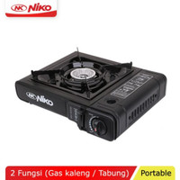 NIKO NK-268 Stainless Gas Stove Portable 2 Functions