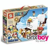 Lego SY6299 SY 6299 One Piece Going Merry Luffy Ship 432pcs Brixboy