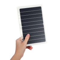 10W 6V 1.7A Portabel USB Panel Surya Solar Power Bank W /