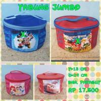 Tas Tabung Jumbo/Kosmetik/Bekal/Goodie Bag/Ultah