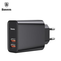 BASEUS Speed Dual Charger QC 3.0 Qualcomm Quick Charge Fast Charging