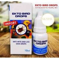 EKTO BIRD DROP OBAT TETES BURUNG ATASI KUTU TUNGAU INFEKSI KULIT SISIK