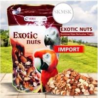 EXOTIC NUTS VERSELE LAGA PAKAN BIJIAN IMPORT EXTRA NUTRISI BURUNG NURI