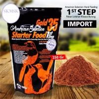STARTER FOOD 1 ST STEP 250 GRAM PAKAN BUBUR ANAKAN PIYEK BURUNG MURAI