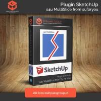s4u MultiSlice Plugin SketchUp Original License dan Support