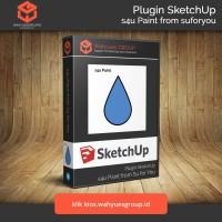 s4u Paint Plugin SketchUp Original License dan Support