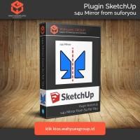 s4u Mirror Plugin SketchUp Original License dan Support