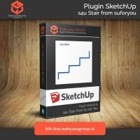 s4u Stair Plugin SketchUp Original License dan Support
