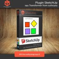 s4u Transform Plugin SketchUp Original License dan Support