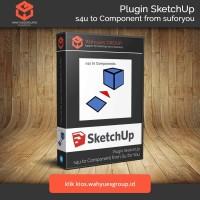 s4u to Components Plugin SketchUp Original License dan Support