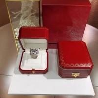 PANTHERE DE CARTIER Ring Cincin Emeralds, Onyx, Diamond ORIGINAL